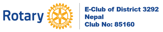 Rotary E-Club of District 3292, Nepal
