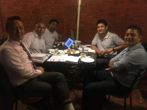 PR and TRF Committee meeting